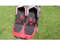 Baby jogger city mini double like new