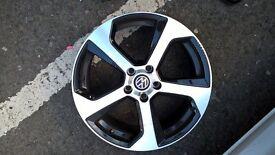 "18"" VW Alloys - beautiful (minor surface blemishes)"