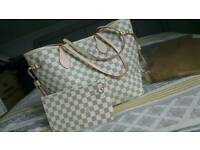 Lv neverful bag in 2 styles brand new