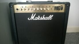 Marshall MG50FX with footswitches