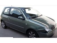 VOLKSWAGEN LUPO 2002 52 PLATE 12 MONTHS MOT DRIVES GREAT
