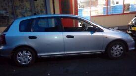 Honda civic 2002 bargain