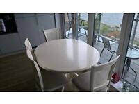 Dining Table plus four chairs