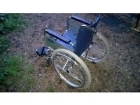 DMA Days Healthcare wheelchair in very good condition. Model no 21823