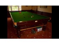 FREE Full Size snooker table