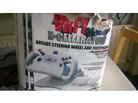 VRF1 X-Cellerator Arcade Steering Wheel and Footpedal