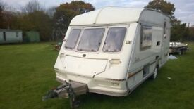 Caravan shell- use as - extra bedroom / Storage/Office/workroom/Den/covered trailer