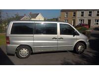 Mercedes Vito 112 CDI van with full wheelchair access