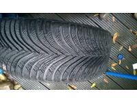 Michelin alpin 5 winter tyres 225 45 17 x4