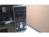 compaq presario desktop 60gb hd 2gb ram intel P4 windows 7 32 bit