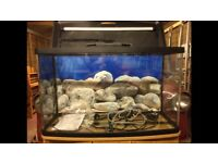 Fish tank and stand ,