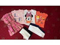 Girls summer clothes age 5-6y