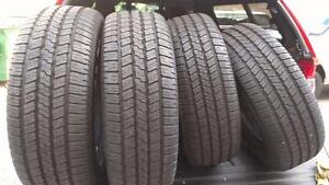 265/70/17 GOODYEAR SET OF FOUR $380.00 (2PH2TG05111) MIDLAND ON