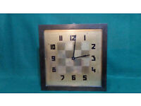 Antique Electric Railway station or school wall clock