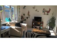 Lovely Big One Bed Flat with Balcony and sea views in Brighton. Near to Queens Park