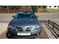NISSAN ALMERA 1.5 SVE, 54 PLATE, (FULL YEARS MOT) SELL/SWAP