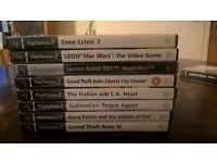 Various Playstation 2 Games