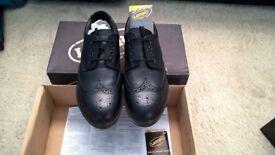 Mens Steel toe cap Brogue Shoes