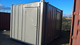 PORTABLE CABIN-12ft MALE/FEMALE TOILET-SHIPPING CONTAINER