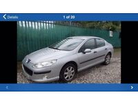PEUGEOT 407 2004 2.0 HDI CAR BREAKING FOR SPARES