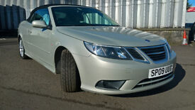 2009 Saab Converible, full leather, service history