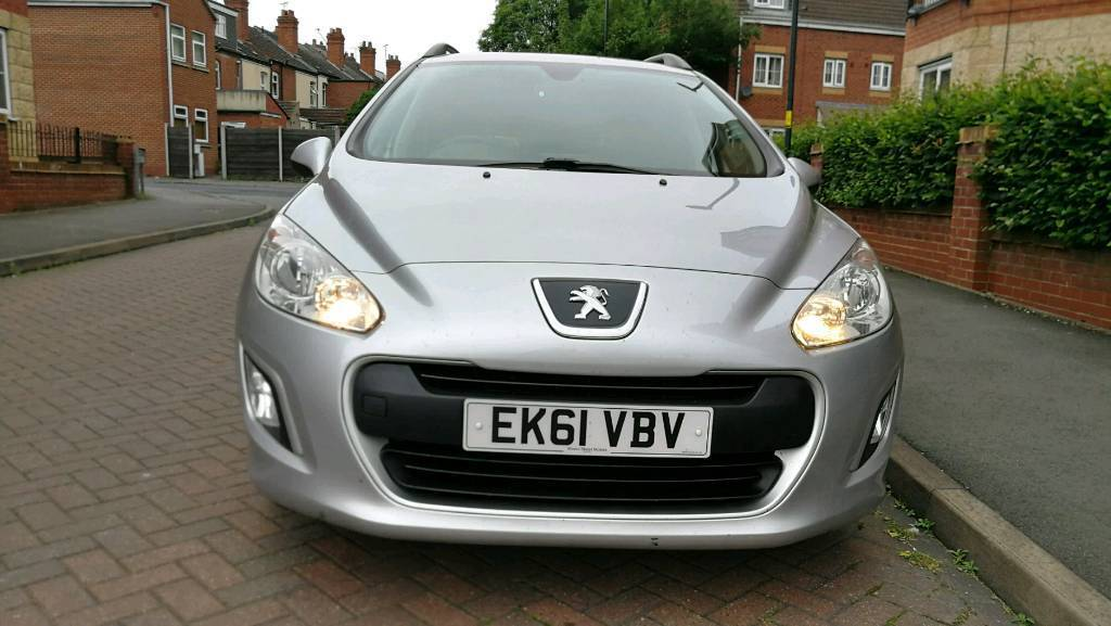 2011 peugeot 308 sw 1.6 hdi sr 5dr 1 previous owner. £30 a year tax