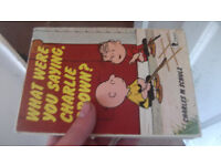 what were you saying charlie brown? comic book