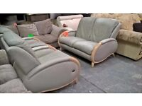 grey leather full suite for 165 pounds