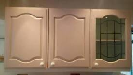 Kitchen/utility wall cupboards
