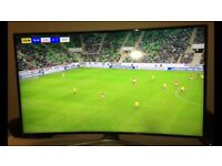 Samsung 55 inch curved 4K ultra tv ... only a few months old!