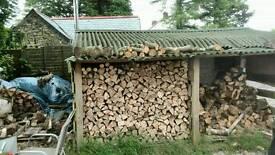 Hardwood firewood logs seasoned split/cut