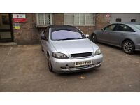 Vauxhall Astra Convertible 1.8 low miles!!