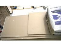 plasterboard planks