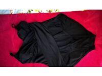 bnwot black swimming costume,tummy control