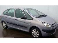 CITROEN XSARA PICASSO SX 16V ESTATE 2001 51 PLATE MOT APRIL TEL 07455522406