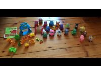 Wheely farm animals and farm animals - excellent condition