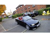 bmw m3 smg 11 convertible carbon bloack with red leathers+hardtop*modified*