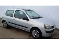 RENAULT CLIO 1.2 EXTREAM 53 PLATE DRIVES GREAT MOT MAY BARGAIN AT £325 TEL 07455522406