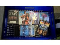 Crate of Assorted DVD's