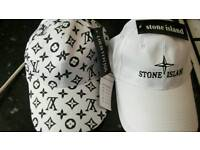 White designer hats 15 each or 2 for 25