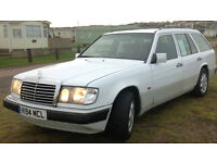 Classic smart Car Mercedes 200TE 7 seater W124 massive inside MOT 9 months amazing to drive