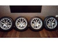 Alloy Wheels 17 Inch Subaru VW 100 X 5