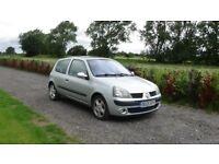 2005 Renault CLIO 1390CC Silver