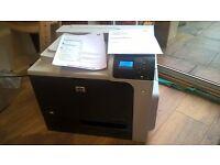 HP CP4025 network laser printer