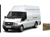 Removals service man and van delivery service