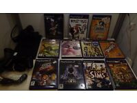 Playstation 2 Bundle 10 great games, 1 controller, mem card ** 1 Months Warranty