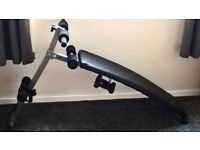 Beginners Workout bench - 1.5kg weights included and elastic bands