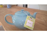 New pale blue Le Creuset teapot