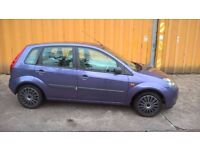 06 Ford Fiesta Style 1.3 five door, 82k miles, category c recorded