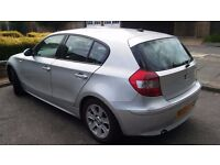 AUTO 2005 BMW 1 SERIES, FULL LEATHER AND 1 YEAR MOT, PUSH START, AIRCON, HEATED SEATS, ETC, BARGAIN